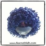 Crochet Cabbage Patch Kid Newborn Boy Beanie