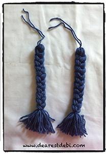 Crochet Cabbage Patch Kid Braids - Dearest Debi Patterns