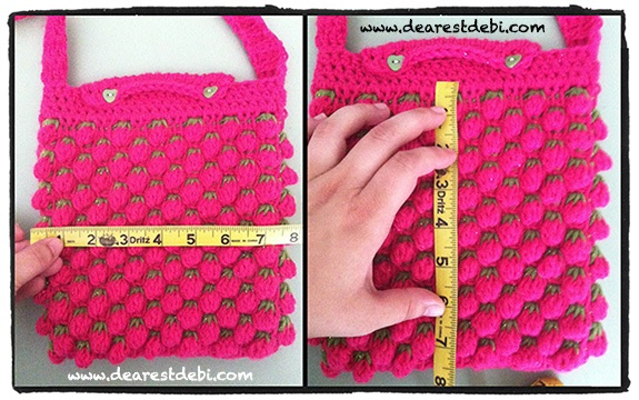 Crochet Bag Liner - Dearest Debi Patterns
