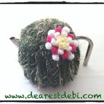 Crochet Cactus Flower - Dearest Debi Patterns