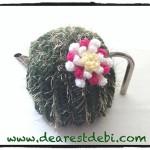 Crochet Cactus Flower - Dearest Debi Patterns