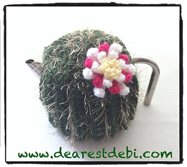 Crochet Cactus Tea Cozy