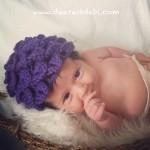 Crochet Crocodile Baby Beanie - Dearest Debi Patterns