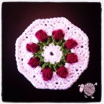 Crochet Flower Bud Granny Octagon - Dearest Debi Patterns