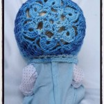 Snow Flower Bonnet - Dearest Debi Patterns