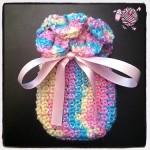 Crocodile Crochet Baby Mittens - Dearest Debi Patterns