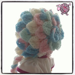 Crocodile Crochet Bonnet - Dearest Debi Patterns