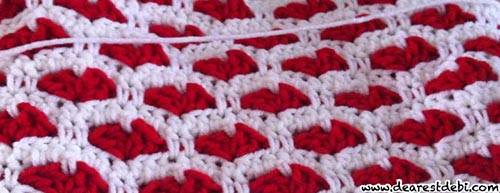 Crochet Sweet Hearts - Dearest Debi Patterns