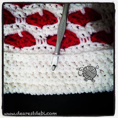 Crochet Sweet Hearts Bag - Dearest Debi Patterns
