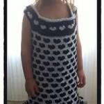 Crochet Sweet Hearts Dress - Dearest Debi Patterns
