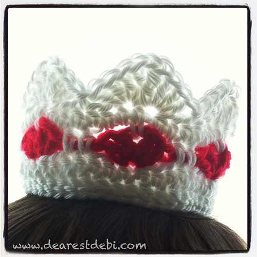 Queen of Hearts Crown - Dearest Debi Patterns