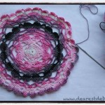 Serendipity Hearts Doily - Dearest Debi Patterns