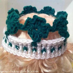 Lucky Shamrock Crown - Dearest Debi Patterns