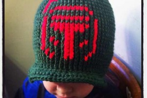 Boba Fett Beanie - Dearest Debi Patterns