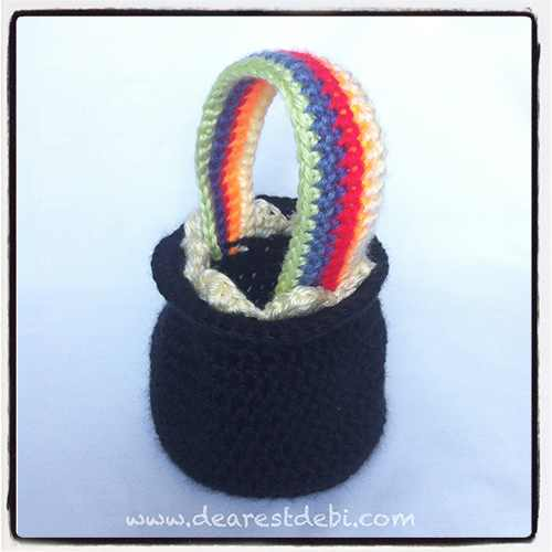Crochet Pot of Gold - Dearest Debi Patterns