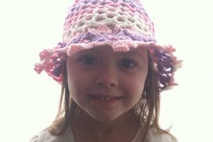 3D Flower Lattice Sunhat - Dearest Debi Patterns