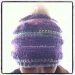 Miss Nancy Not Knit Hat - Dearest Debi Patterns