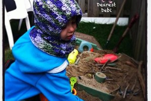 Star Burst Hood - Dearest Debi Patterns