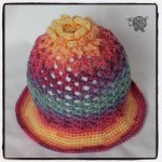 3D Sun Flower Hat Toddler - Dearest Debi Patterns