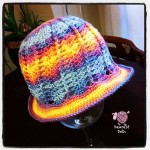 Autumn Sky Cloche - Dearest Debi Patterns