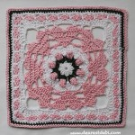 Love Garden Granny Afghan Block - Dearest Debi Patterns
