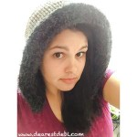 Faux Fur Ribbed Crochet Hood - Dearest Debi Patterns