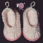 Cloud 9 Crochet Slippers - Dearest Debi Patterns