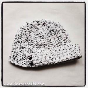 Emily Cotton Crochet Hat - Dearest Debi Patterns