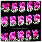 Tunisian Crochet Roses