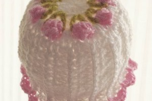 Little Miss Flower Newborn Beanie
