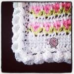Crochet Flower Edging Corners