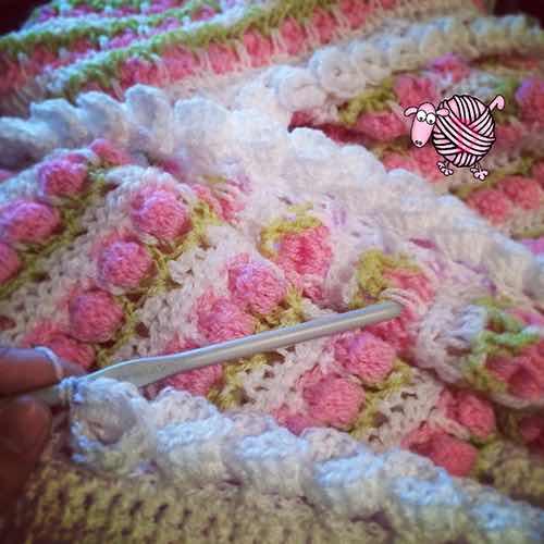 Crochet Flower Edging Corners Dearest Debi Patterns