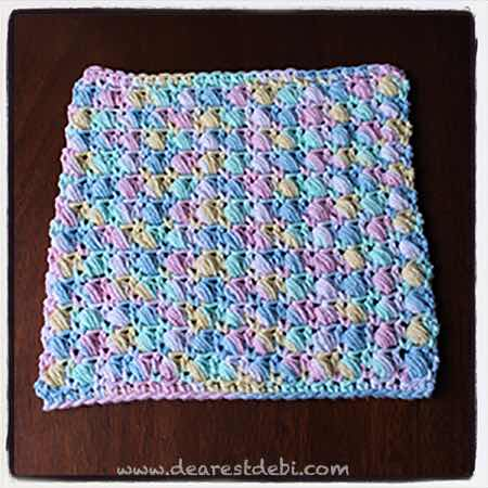 Spring Cleaning Crochet Cloths - Dearest Debi Patterns