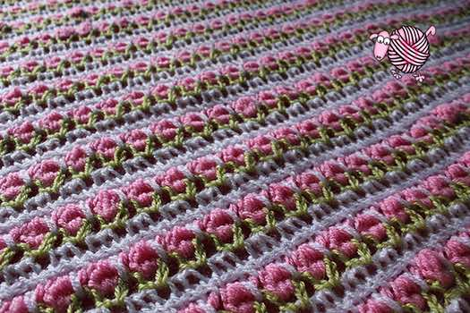Tunisian Roses Afghan Dearest Debi Patterns