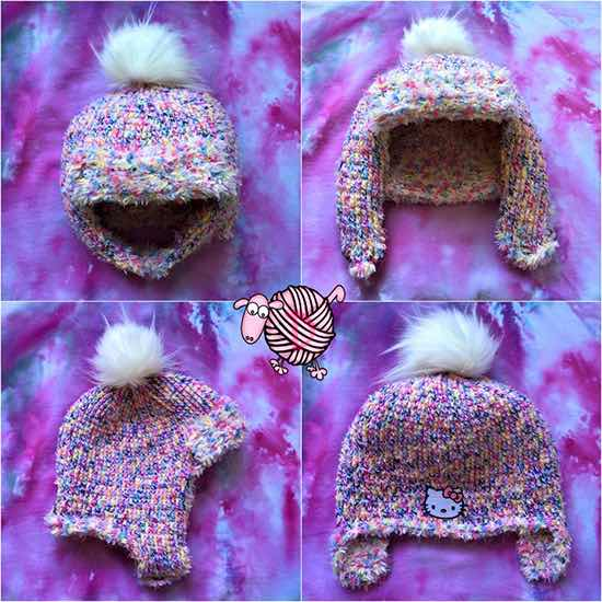 Dads Crochet Trapper Hat - Dearest Debi Patterns