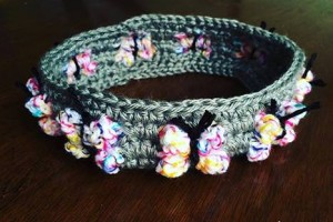 Crochet Butterfly Flutterby Headband - Dearest Debi Patterns