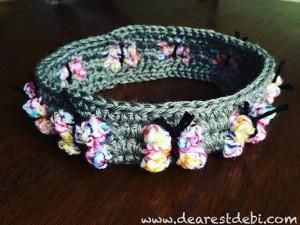 Crochet Butterfly Flutterby Headband