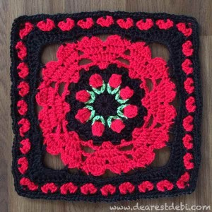Moogly 2015 Afghan Crochet Along - Dearest Debi Patterns