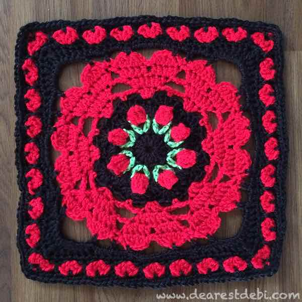 Crochet Stitches On Moogly : Pattern is available for purchase on Ravelry or free to download below ...