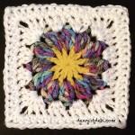 Sun Flower Square - Dearest Debi Patterns