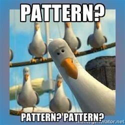 Pattern Pattern Pattern - Mine Mine Mine