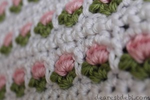Crochet Window Flower Stitch