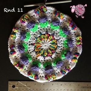 Butterfly Garden Octagon Round 11 - Dearest Debi Patterns