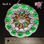 Butterfly Garden Octagon Round 6 - Dearest Debi Patterns