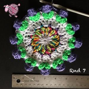 Butterfly Garden Octagon Round 7 - Dearest Debi Patterns