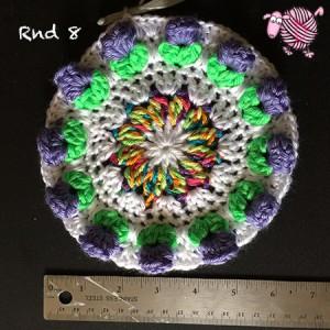 Butterfly Garden Octagon Round 8 - Dearest Debi Patterns