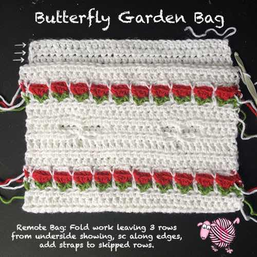 Dragonfly Garden Bag Dearest Debi Patterns