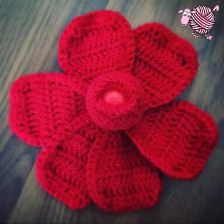 Lip Balm Crochet Rose - Dearest Debi Patterns