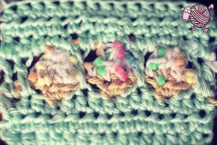 Spring Picnic Party Crochet Stitch - Dearest Debi Patterns