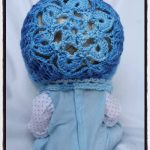 Crochet Snow Flower Bonnet - Dearest Debi Patterns